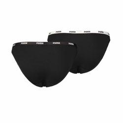 Puma Damen Iconic Bikini Slip Hang 2er Pack