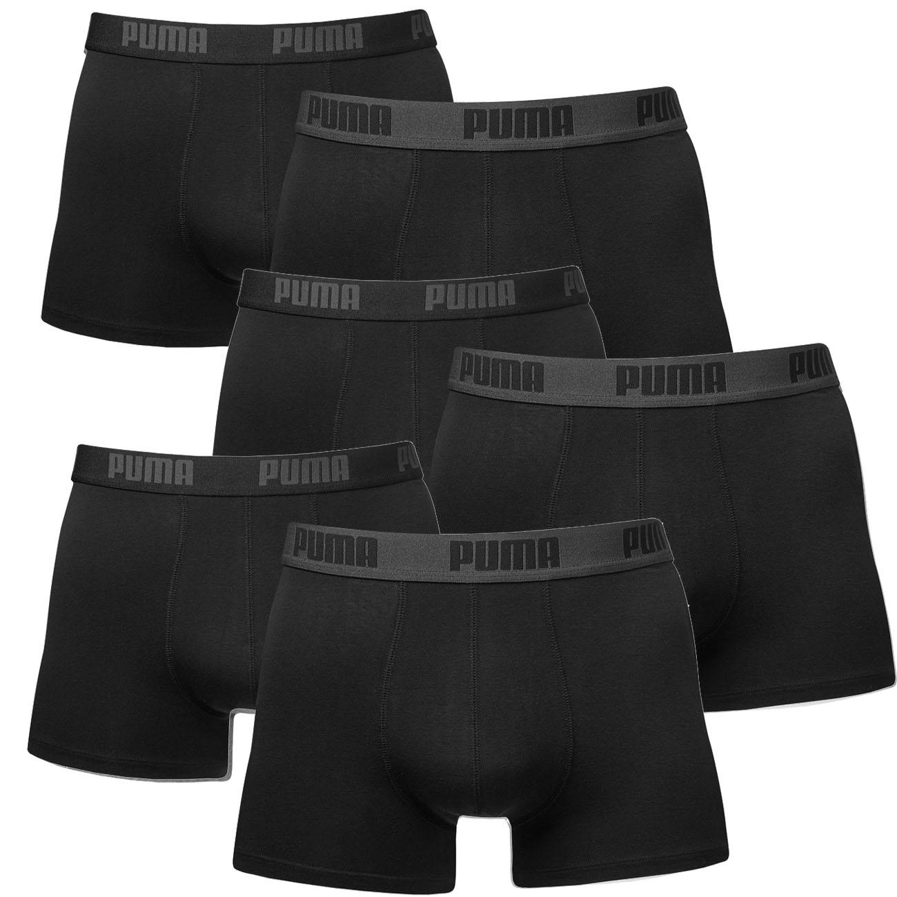 PUMA BASIC BOXERSHORTS Boxer Unterhosen Herren 2er 4er 6er
