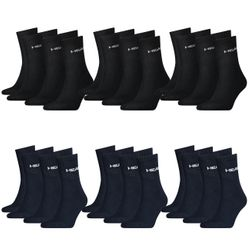 HEAD Unisex Short Crew Sportsocken 18er Pack