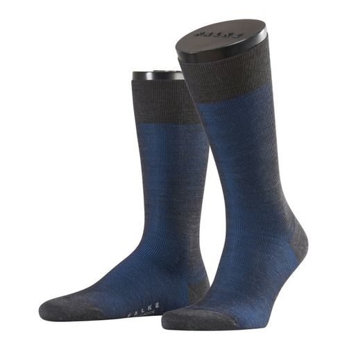 Falke City Herren Socken Fine Shadow Wool 1er Pack