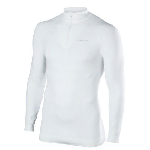 Falke Herren Unterhemd Maximum Warm Zip Shirt - Tight Fit 1er Pack