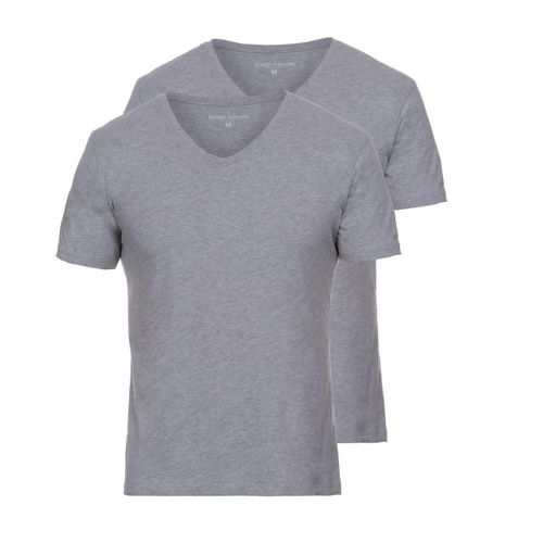 Bruno Banani Herren V-Neck T-Shirt Pure Cotton 2er Pack