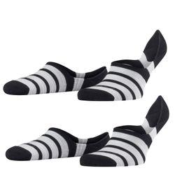 Falke Herren Sneaker Even Stripe 2er Pack