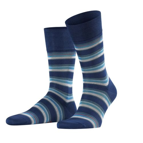 Falke Herren Socken Multicolour Stripe 1er Pack