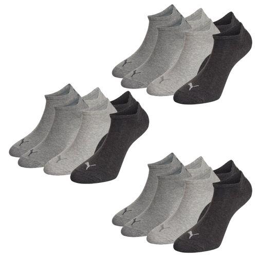 PUMA Unisex Invisible Sneaker Socken 9er Pack