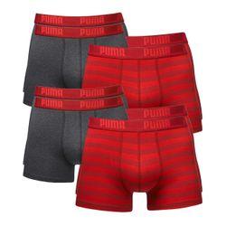 Puma Herren Boxershort Striped Boxer 8er Pack