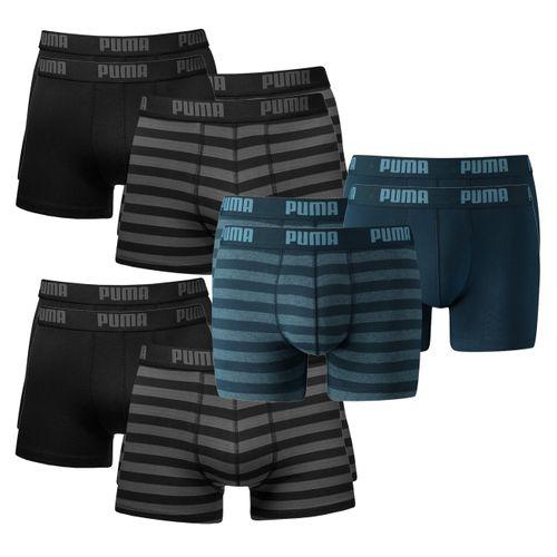 Puma Herren Boxershort Striped Boxer 12er Pack