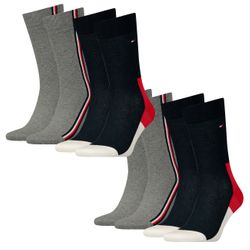 Tommy Hilfiger Herren Socken Iconic Hidden 4er Pack
