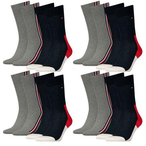 Tommy Hilfiger Herren Socken Iconic Hidden 8er Pack