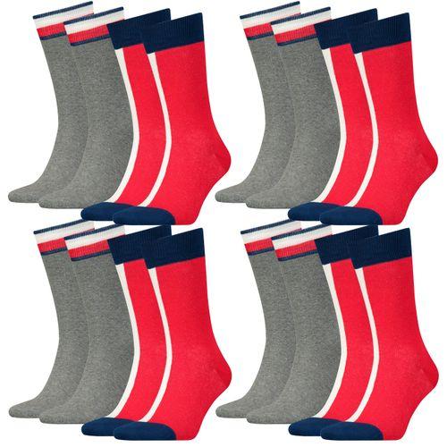 Tommy Hilfiger Herren Socken Iconic Flag 8er Pack