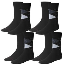 Tommy Hilfiger Herren Socken Check 4er Pack