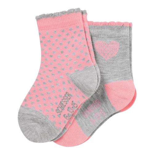 SCHIESSER Baby Socken Cotton Fit Girl 2er Pack