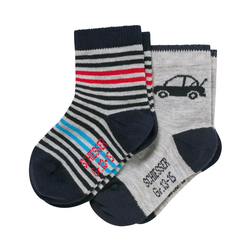 SCHIESSER Baby Socken Cotton Fit Boy 2er Pack