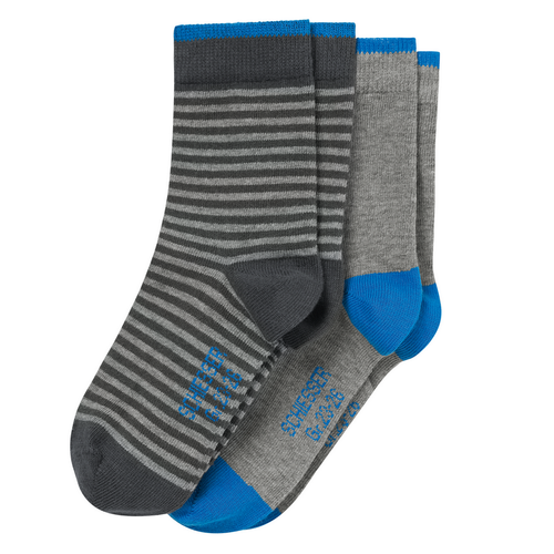 SCHIESSER Jungen Socken Cotton Fit Kids 2er Pack