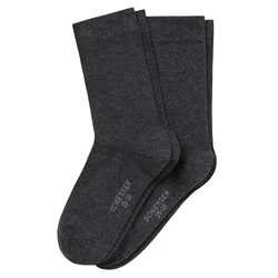 SCHIESSER Damen Socken Cotton Fit 2er Pack