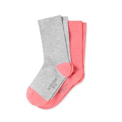 SCHIESSER Damen Socken Uni & Color 2er Pack