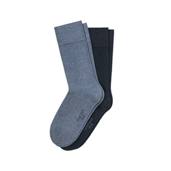 SCHIESSER Herren Socken Cotton Fit Uni Fashion 2er Pack