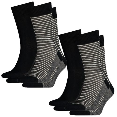 Levis®  Herren Socken Regular Cut Stripe 168SF Vorteilspack - 4er oder 8er Pack