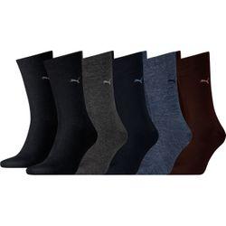 Puma Unisex Casual Socken Classic Vorteilspack - 4er, 8er oder 12er Pack