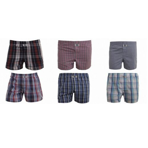 Deal International Boxershorts Mix aus Karo 3er Pack