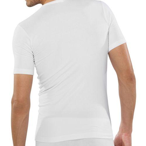 SCHIESSER Herren V-Neck T-Shirt 95/5 1er Pack