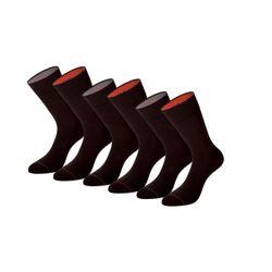 PUMA Men Fortune Crew Socken 232001001-138 Business Socken 6er Pack dark brown
