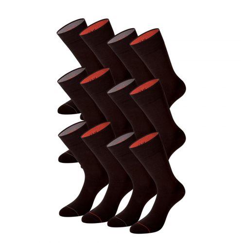 PUMA Men Fortune Crew Socken 232001001-138 Business Socken 12er Pack dark brown