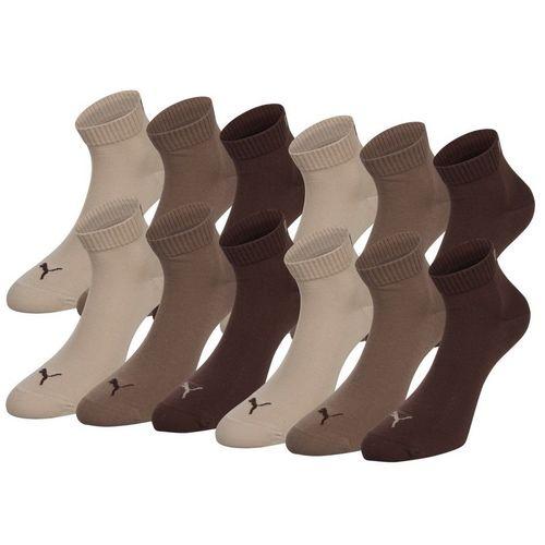 PUMA Unisex Quarter Quarters Socken 12er Pack