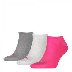 Middle Grey Melange / Pink (656)