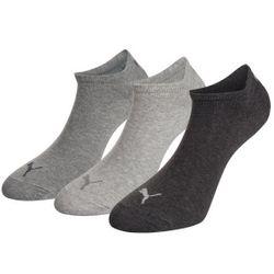 PUMA Unisex Invisible Sneaker Socken 3er Pack