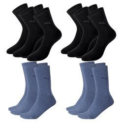 PUMA Damen Casual Socken Classic 8er Pack