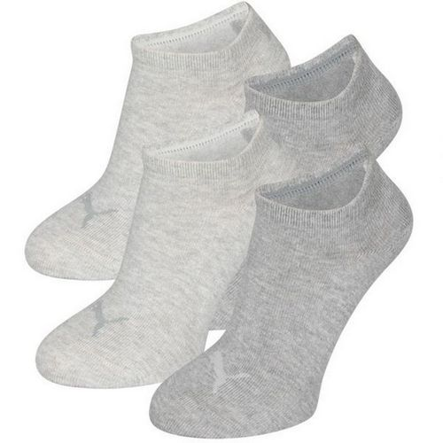 PUMA Kids Invisible Junior Sneaker Socken 4er Pack