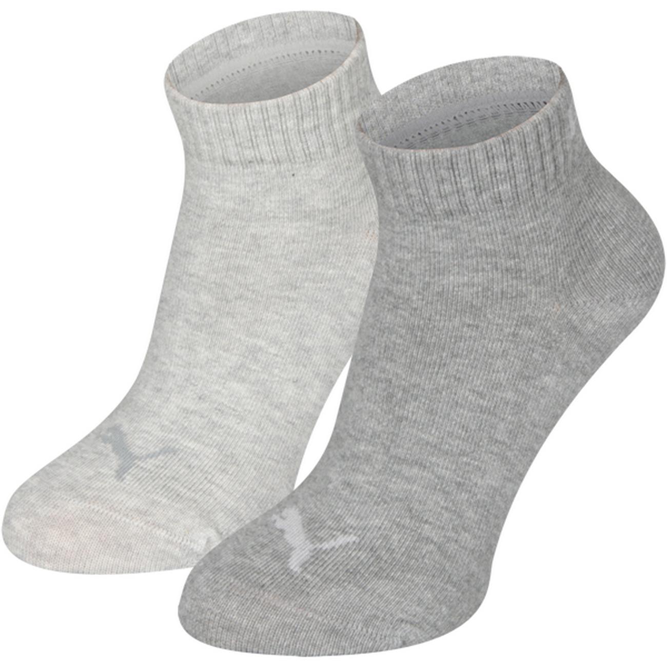 PUMA Kids Quarter Junior Quarters Socken 2er Pack