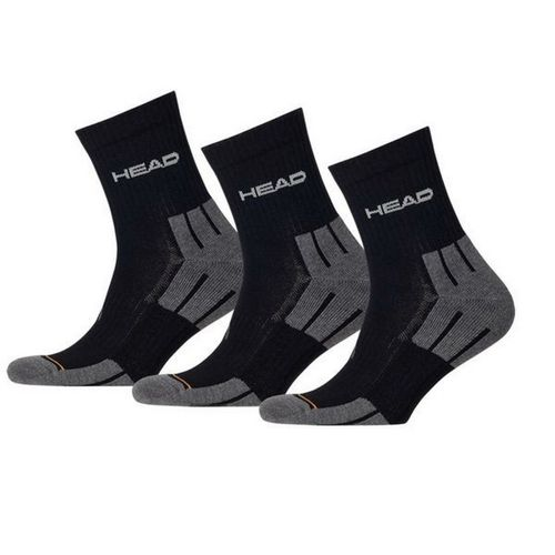 HEAD Unisex Performance Short Crew Sportsocken 3er Pack