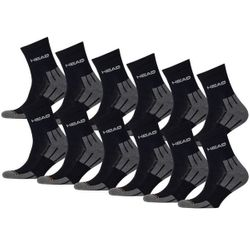 HEAD Unisex Performance Short Crew Sportsocken 12er Pack