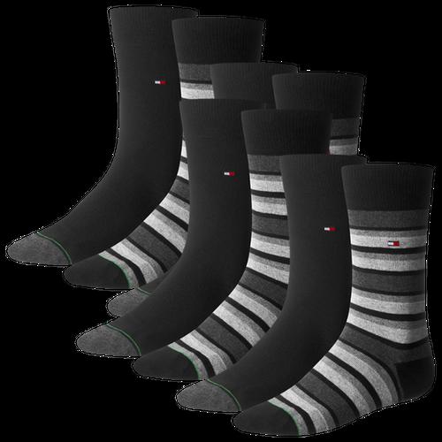 TOMMY HILFIGER Herren Socken Variation Stripe Casual Socken 8er Pack