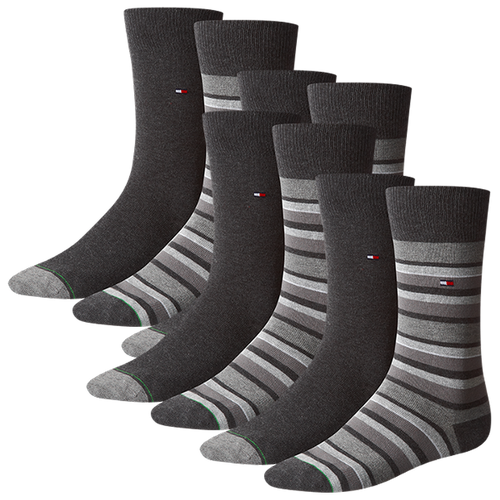 TOMMY HILFIGER Herren Socken Variation Stripe Casual Socken 8er Pack
