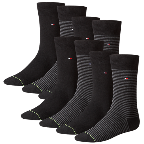 TOMMY HILFIGER Herren Socken Small Stripe Casual Socken 8er Pack