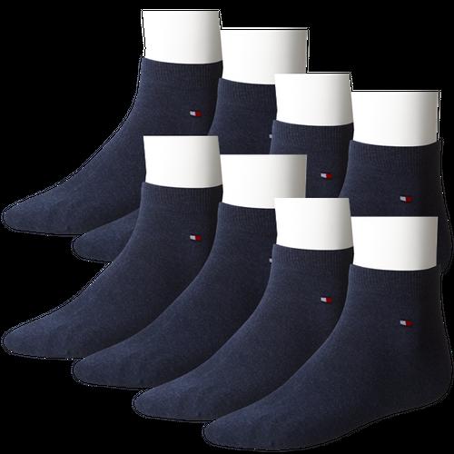 Tommy Hilfiger Herren Quarter Socken Flag 8er Pack