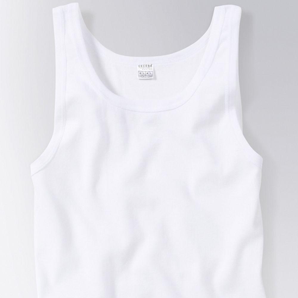 9533aa268708da CECEBA Herren Feinripp Shirt Unterhemd 0026 2er Pack