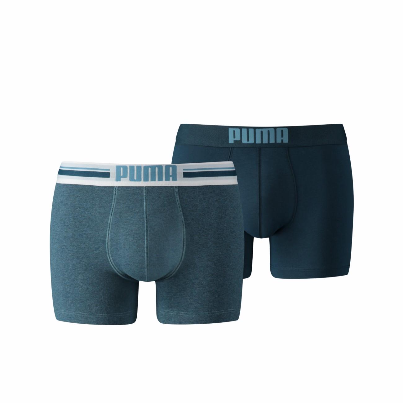 puma herren boxer shorts bodywear placed logo 2er pack