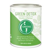 GREENIC Green Detox Superfood Trinkpulver Mischung, 90g