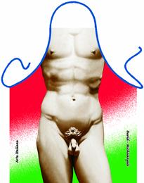 Grill u. Küchenschürze - David Michelangelo
