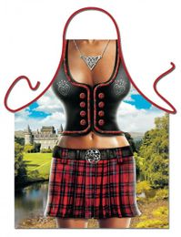 Grill u. Küchenschürze - Scottish Woman