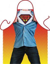 Grill u. Küchenschürze - Super Dad