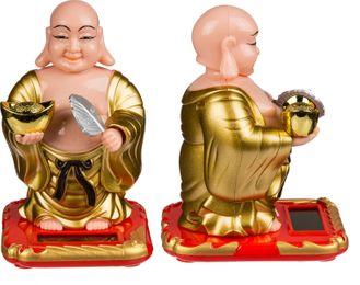 Buddha Solar Figur