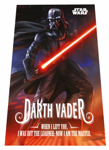 Fleece blanket with Star Wars Darth Vader theme, 100x150 cm
