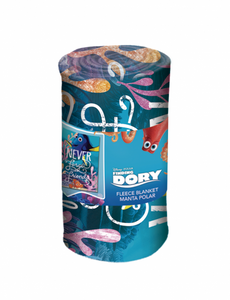 Disney fleece blanket with Finding Dory theme, 100x150 cm – Image 2