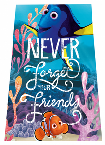 Disney fleece blanket with Finding Dory theme, 100x150 cm – Image 1