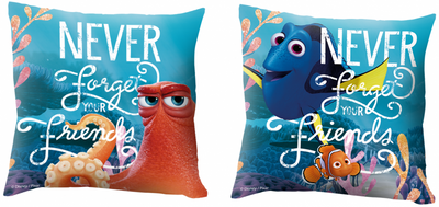 cushion with Disney Finding Dory theme, 40 x 40 cm, filled – Image 1